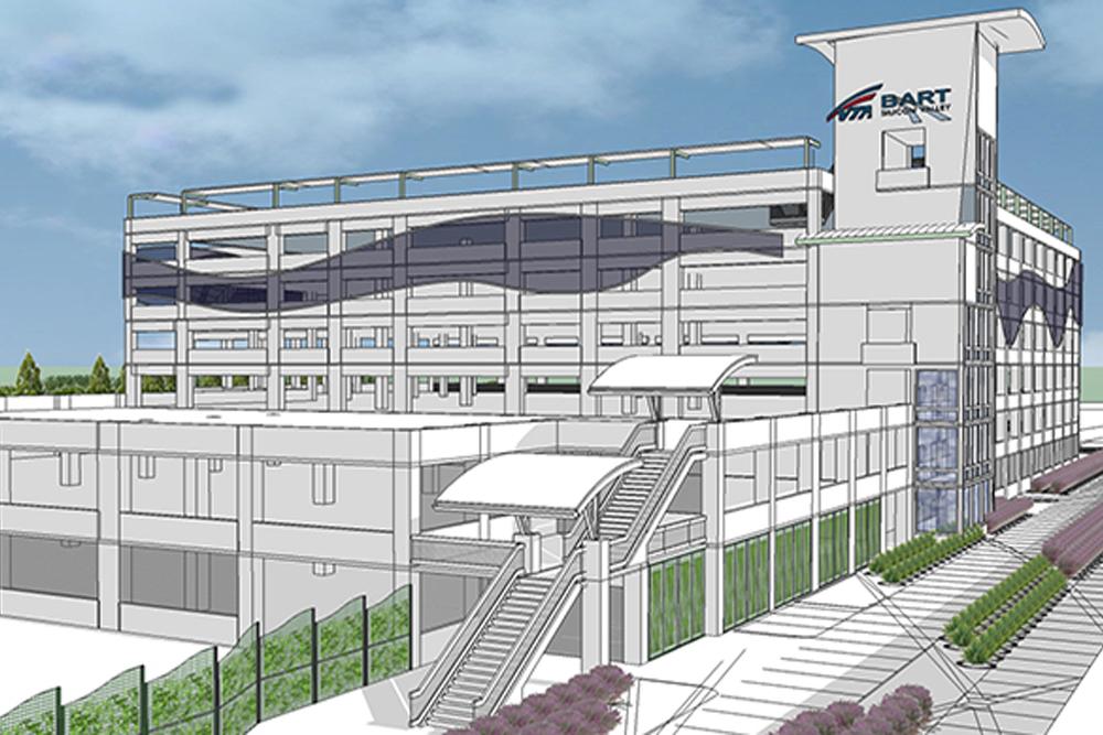 VTA Berryessa Parking Structure